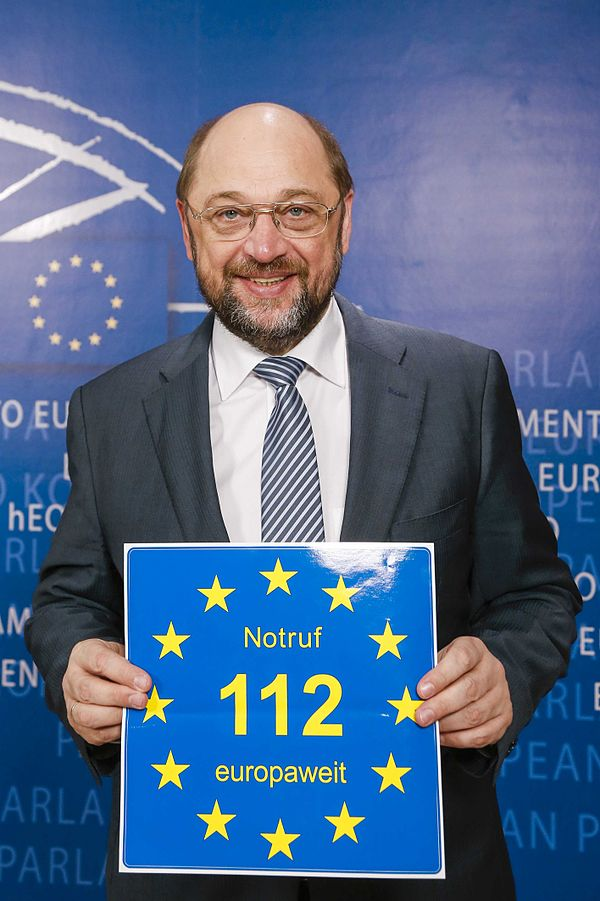 Euronotruf 112 Martin Schulz europe direct