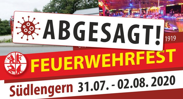 Absage FwFest Suedl2020